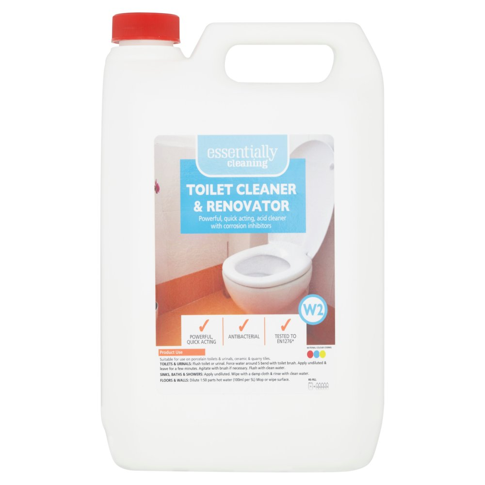 Essentially Cleaning Toilet Cleaner & Renovator W2 5L