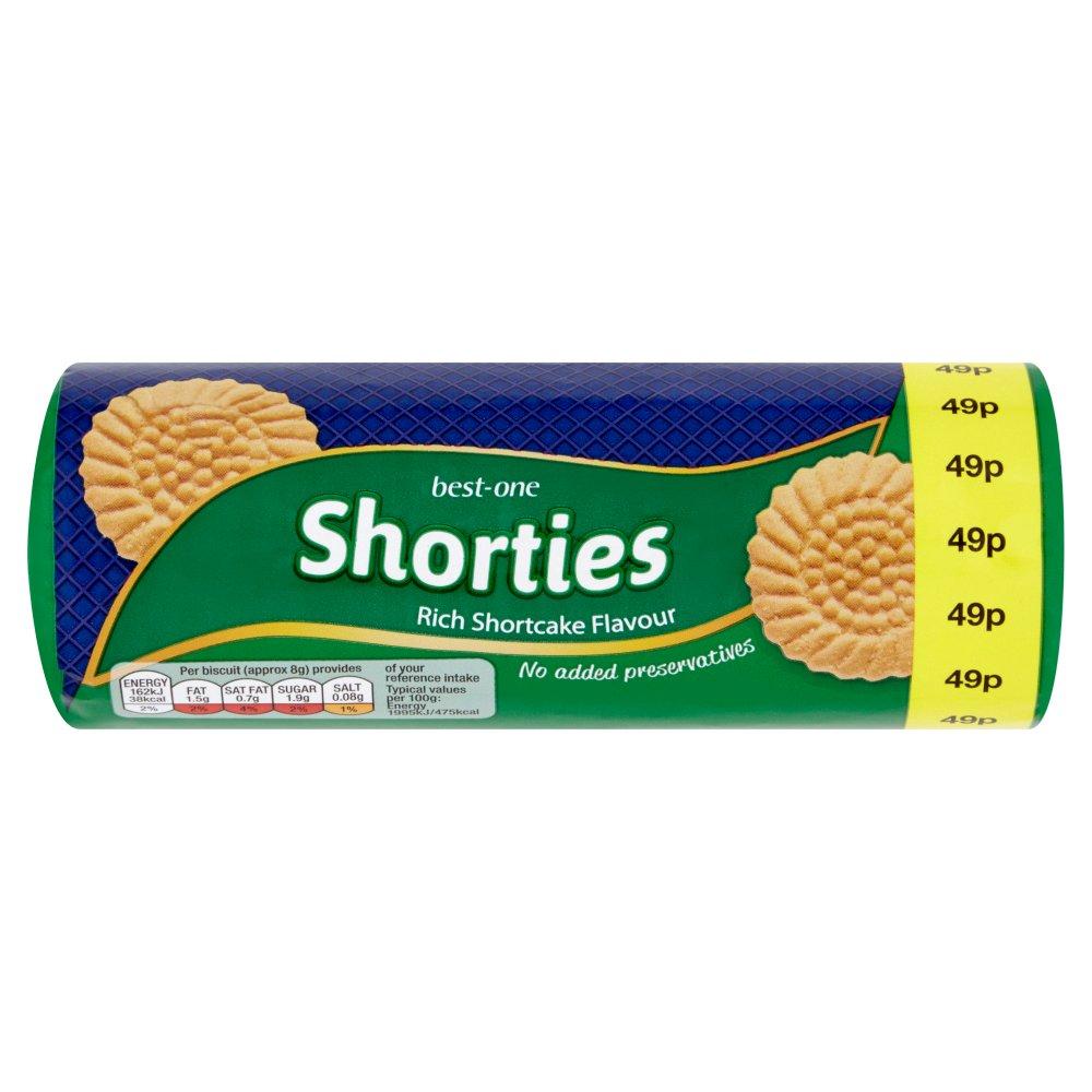 Best-One Shorties Rich Shortcake Flavour 150g