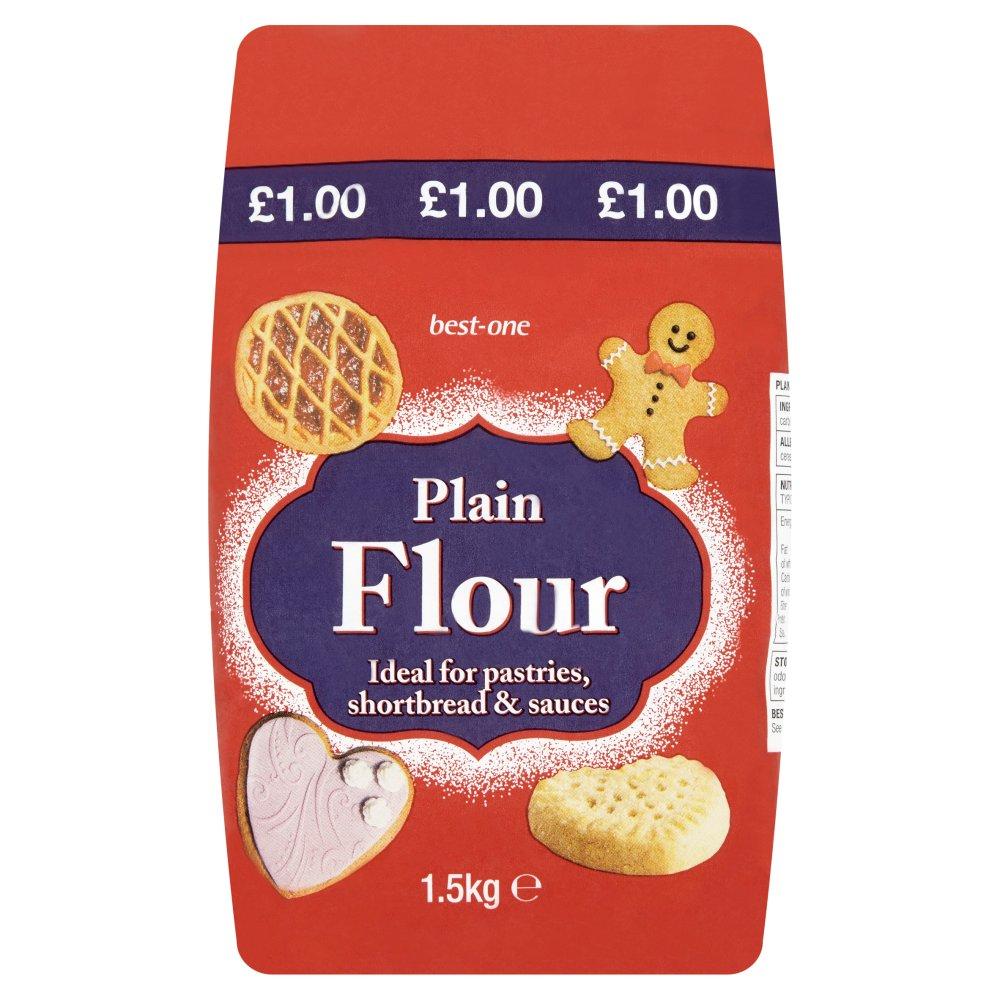 Best-One Plain Flour 1.5kg