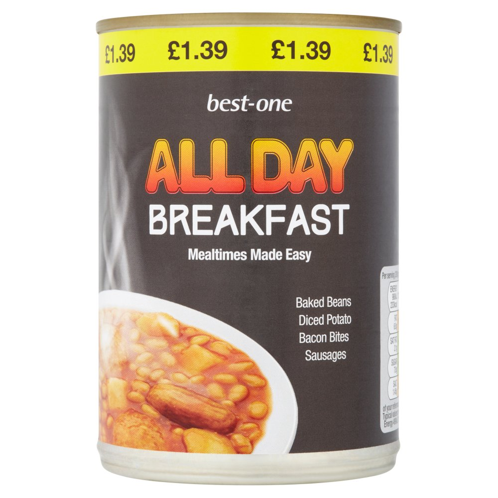 Best-One All Day Breakfast 400g