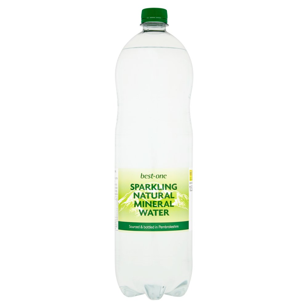 Best-One Sparkling Natural Mineral Water 1.5L