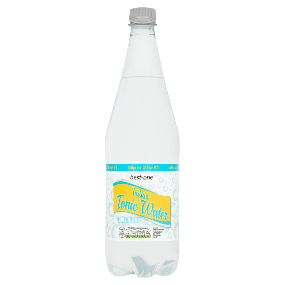 Best-One Indian Tonic Water Low Calorie 1 Litre