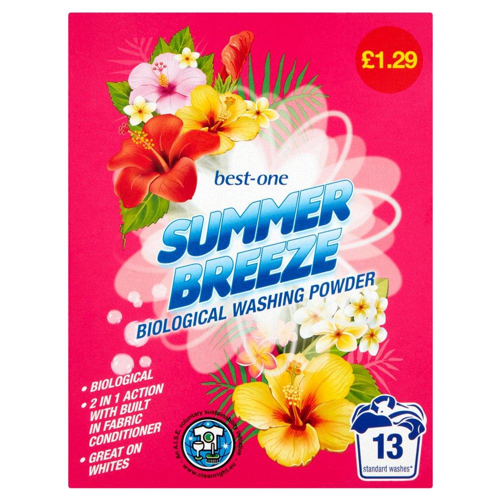 Best-One Summer Breeze Biological Washing Powder 884g