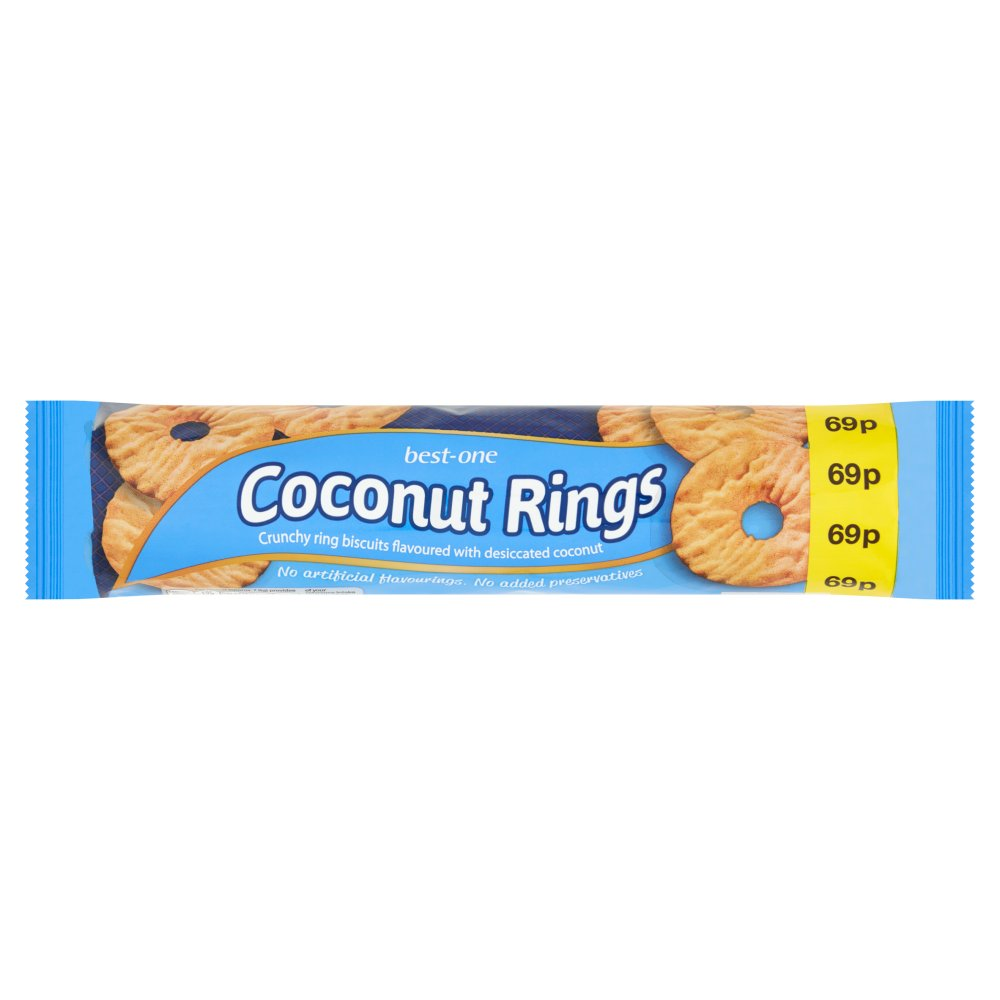 Best-One Coconut Rings 250g