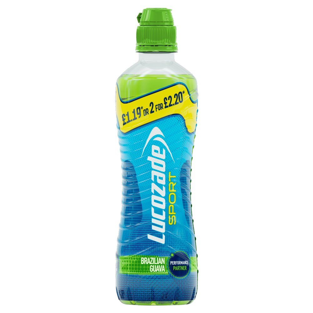 Lucozade Sport Brazilian Guava PMP 500ml £1.19 or 2 for £2.20