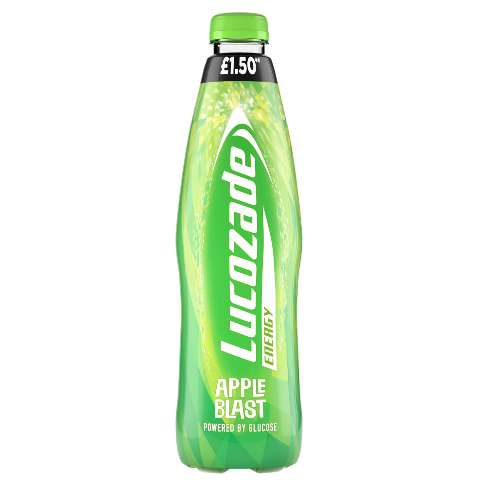 Lucozade Energy Apple Blast 1L £1.50 PMP