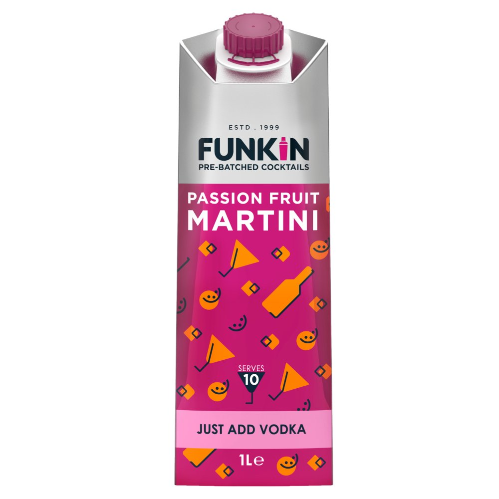 Funkin Cocktail Mixer Passion Fruit Martini 1L