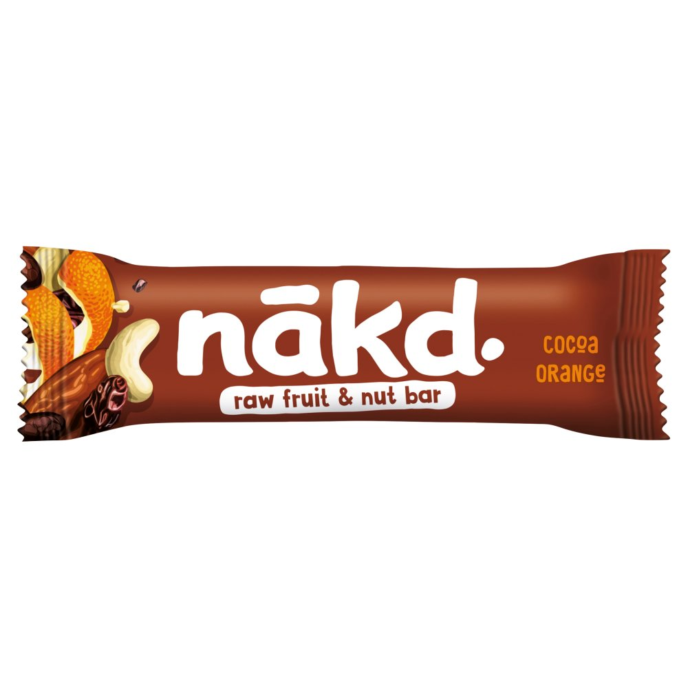 Nakd Cocoa Orange Fruit & Nut Bar 35g