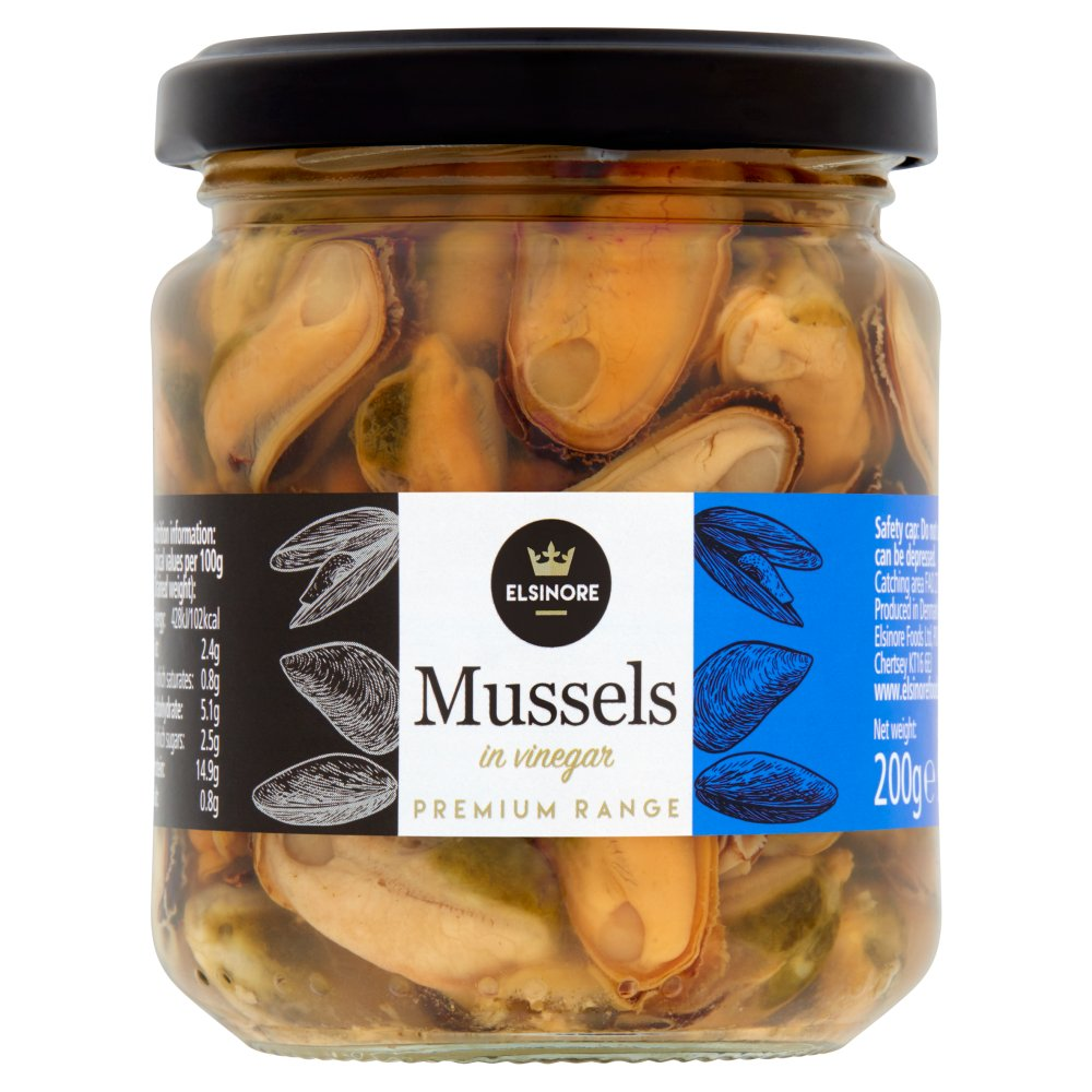 Elsinore Mussels In Vinegar 200g