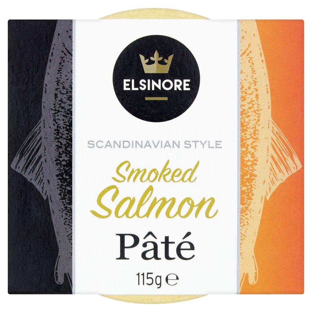 Elsinore Scandinavian Style Smoked Salmon Pâté 115g