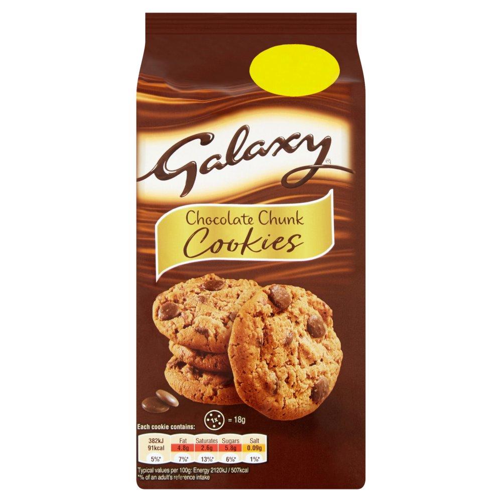 Galaxy Chocolate Chunk Cookies 144g