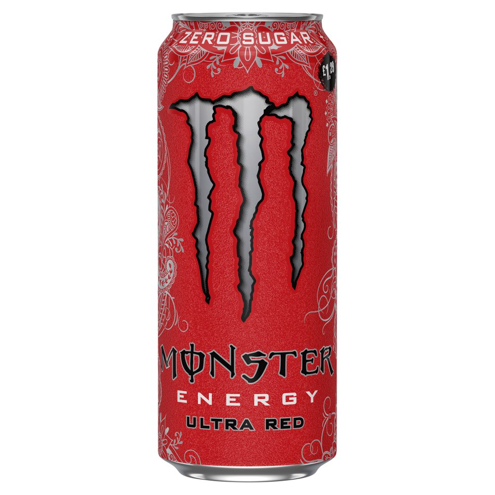 Monster Ultra Red Energy Drink 12 x 500ml PM £1.29