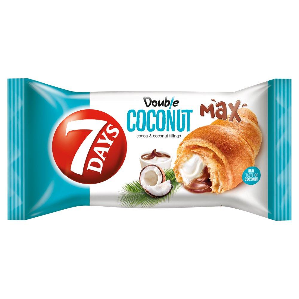 7 Days Double Max Cocoa & Coconut Croissant 80g