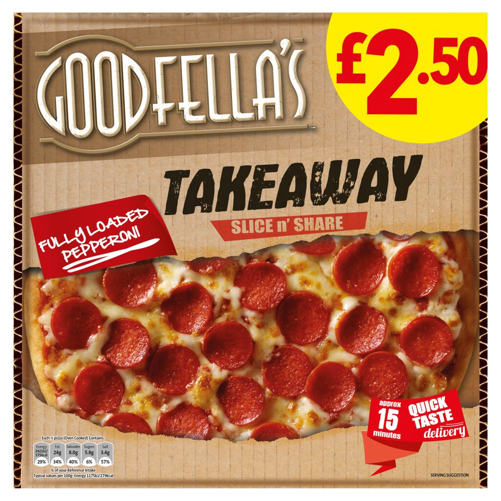 Goodfellas Takeaway Pepperoni £2.50