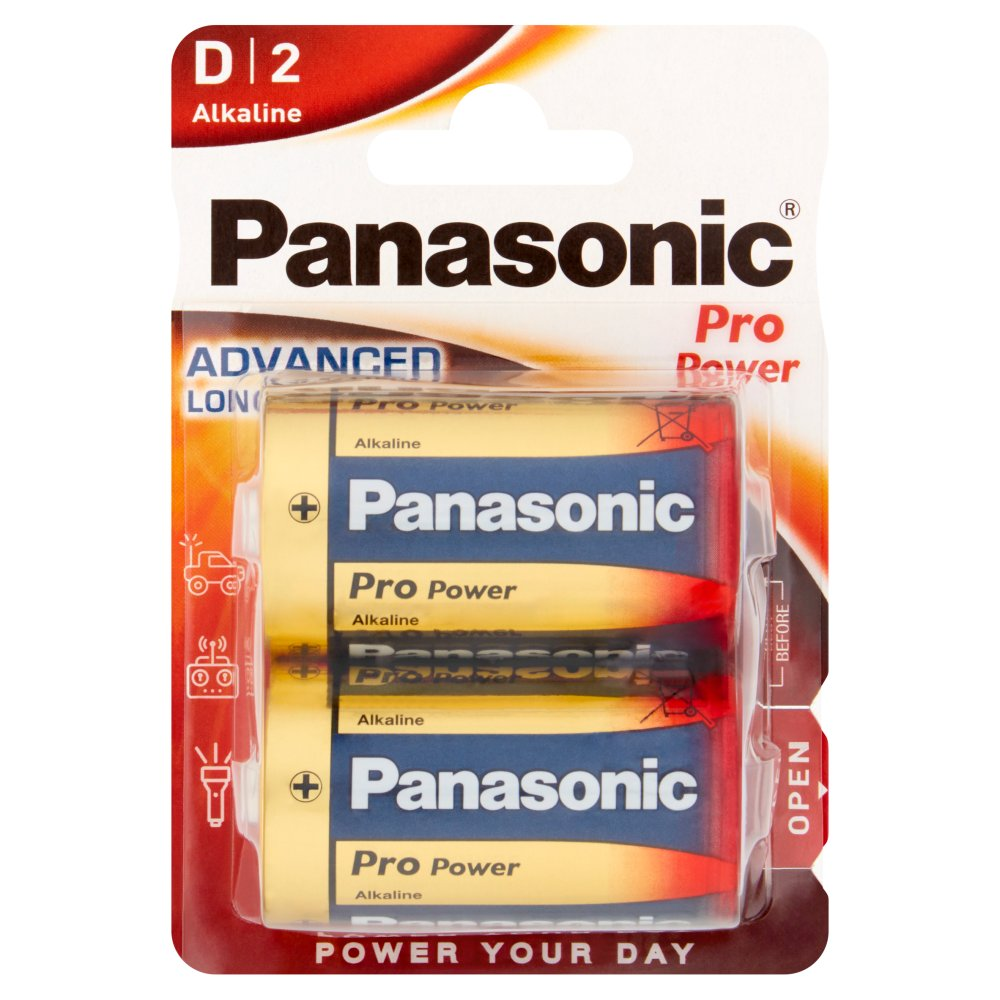 Panasonic Pro Power D Size XL 1.5V Alkaline Battery 2pcs