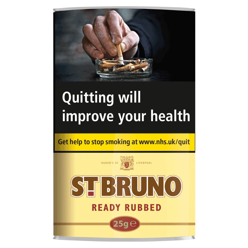 St. Bruno Ready Rubbed Pipe Tobacco 25g
