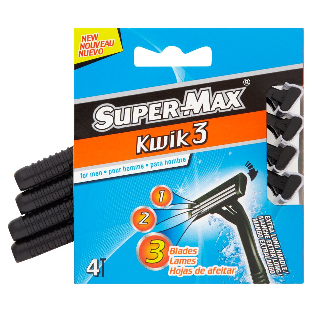 Supermax Mens Kelly Pack Disposable Razors
