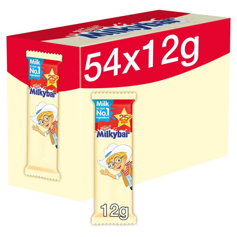 Milkybar White Chocolate Kid Bar 12g PMP 25p