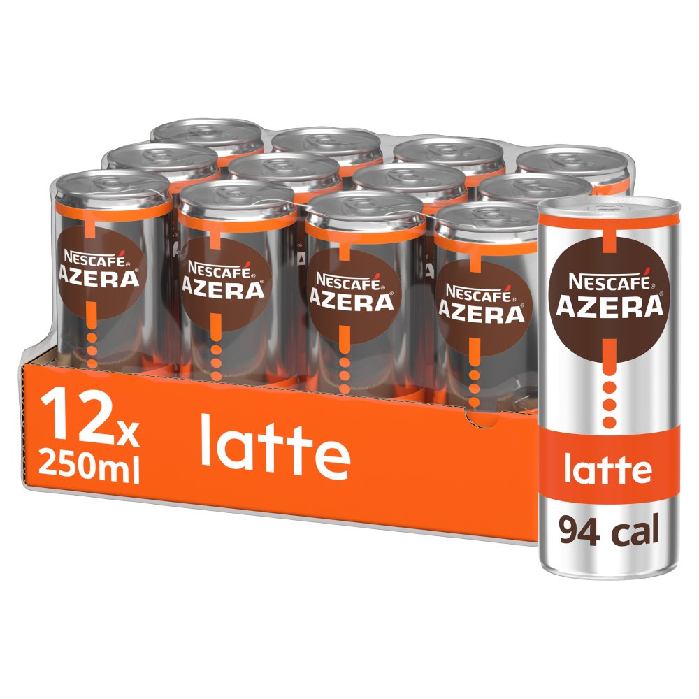 Nescafe Azera Nitro Latte Cold Coffee 250ml