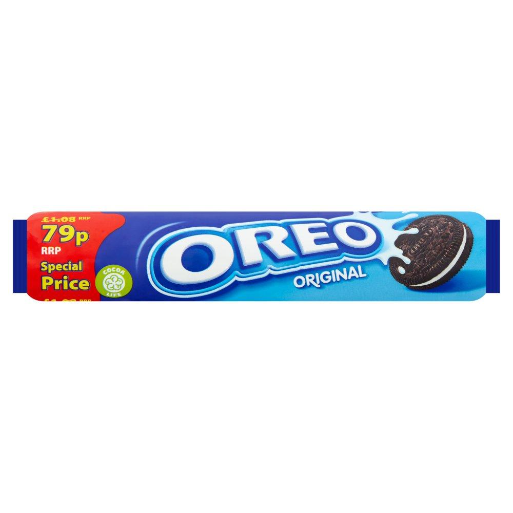 Oreo Original Sandwich Biscuits 79p 154g