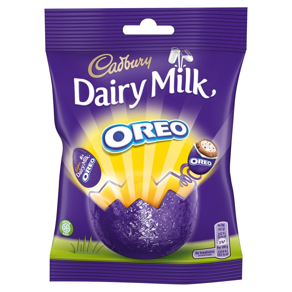 Cadbury Mini Oreo Egg Bag