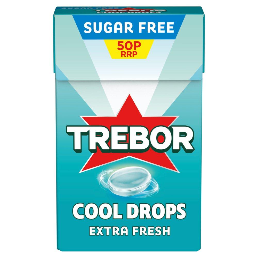 Trebor Cool Drops Extra Fresh Mint 50p 28g