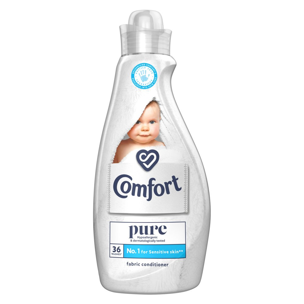 Comfort Pure Fabric Conditioner 36 washes 1.26 Litre