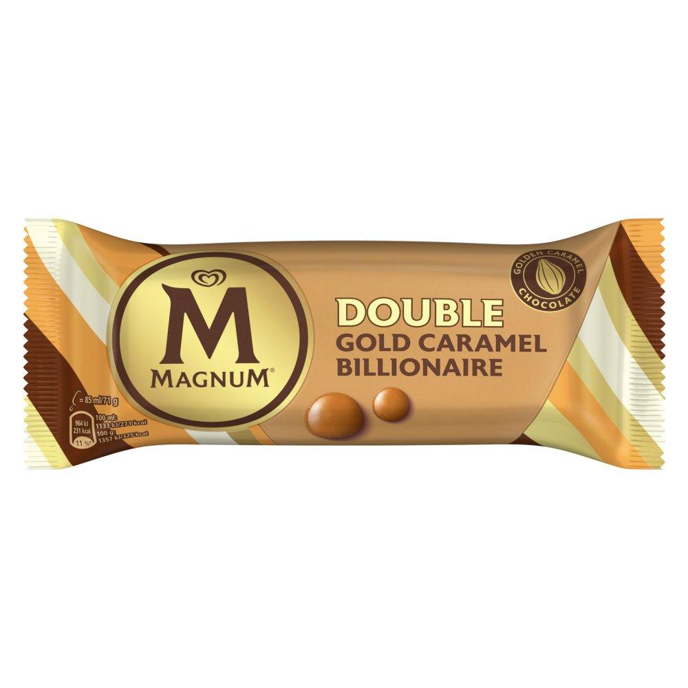 Magnum GOLD CARAMEL BILLIONAIRE Ice Cream Lolly 85 ML
