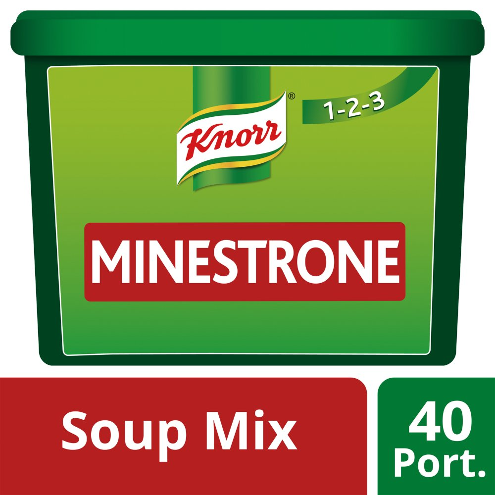 Knorr 123 Soup Minestrone