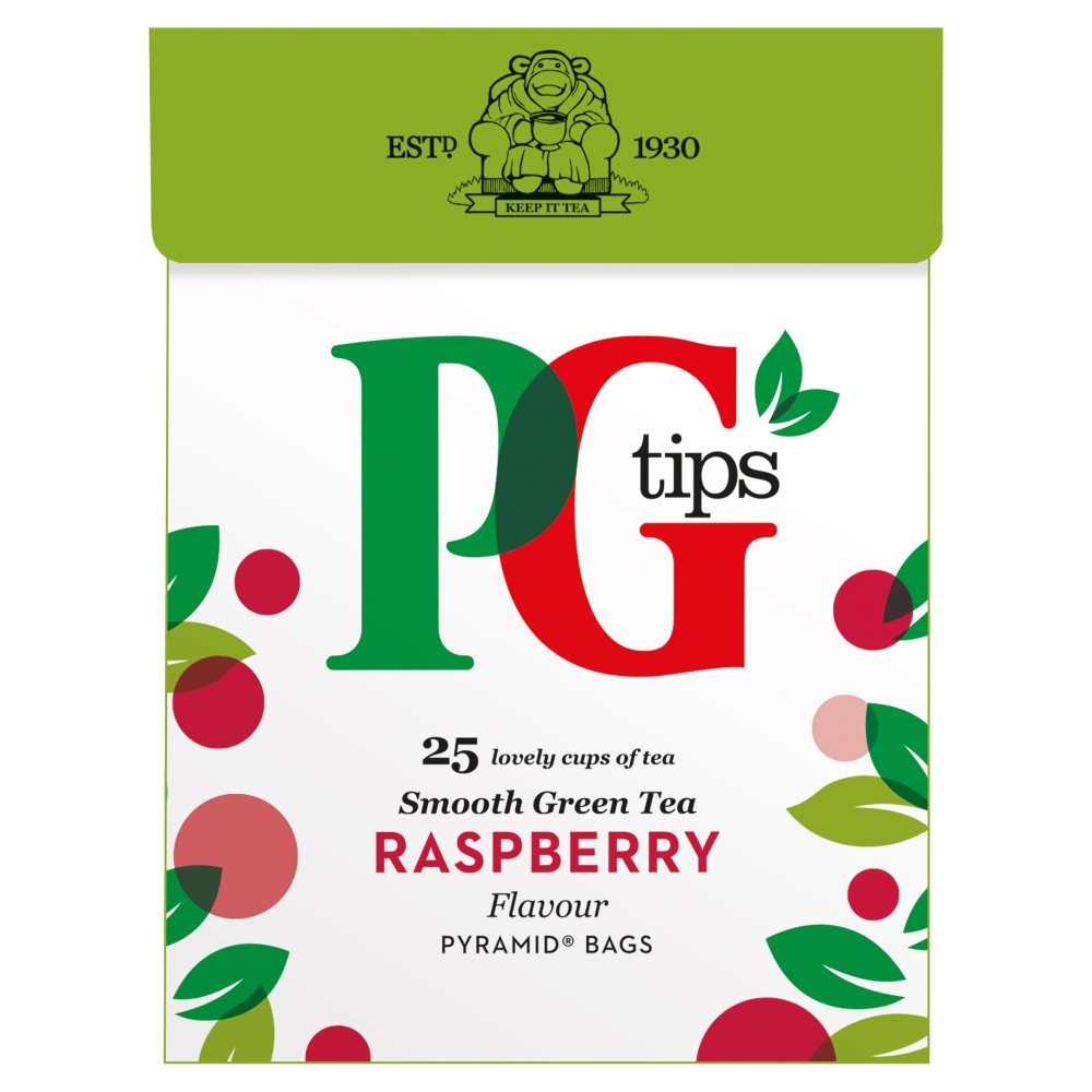 PG Green Tea Raspberry