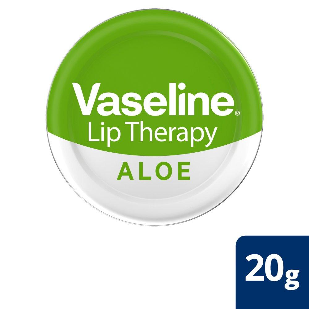 Vaseline Lip Therapy Aloe Vera Tin 20g Bb Foodservice Rosy Original 100