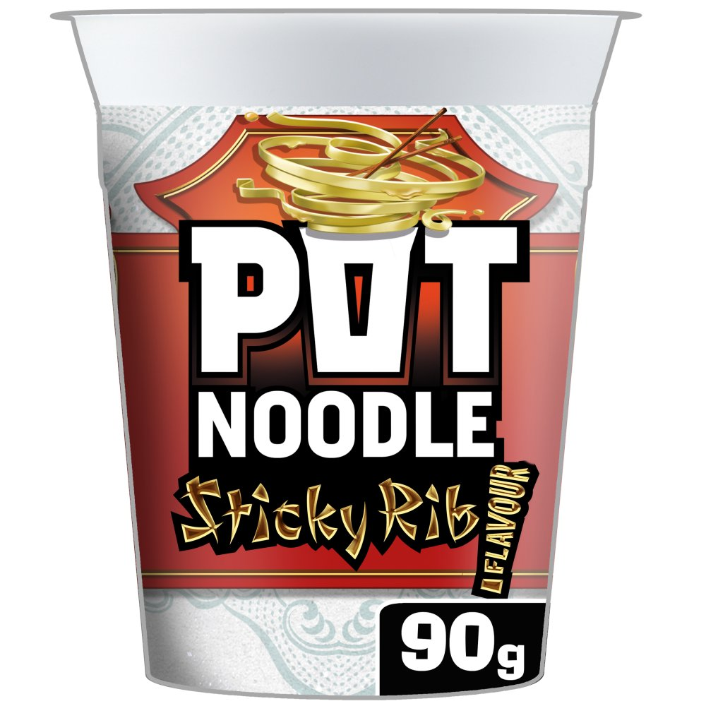 Pot Noodle Stickey Rib