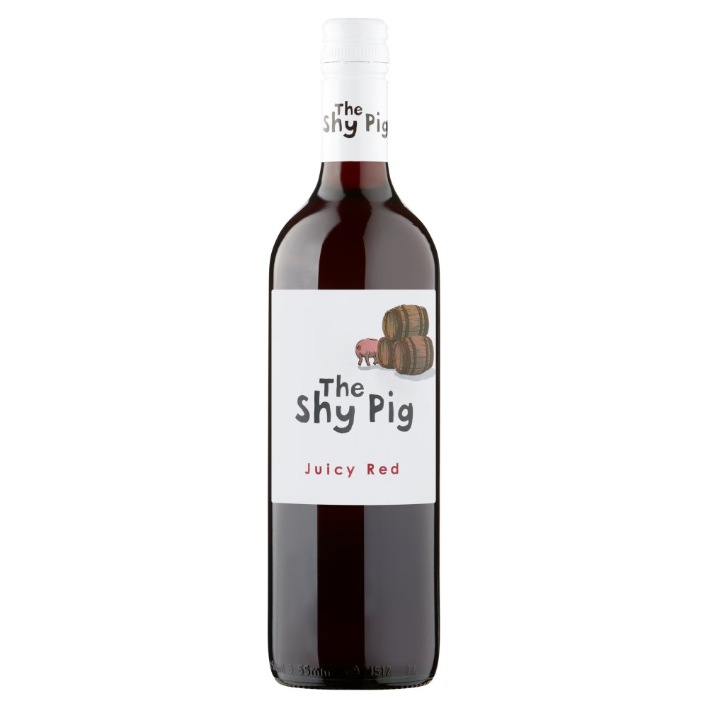 The Shy Pig Juicy Red 75cl