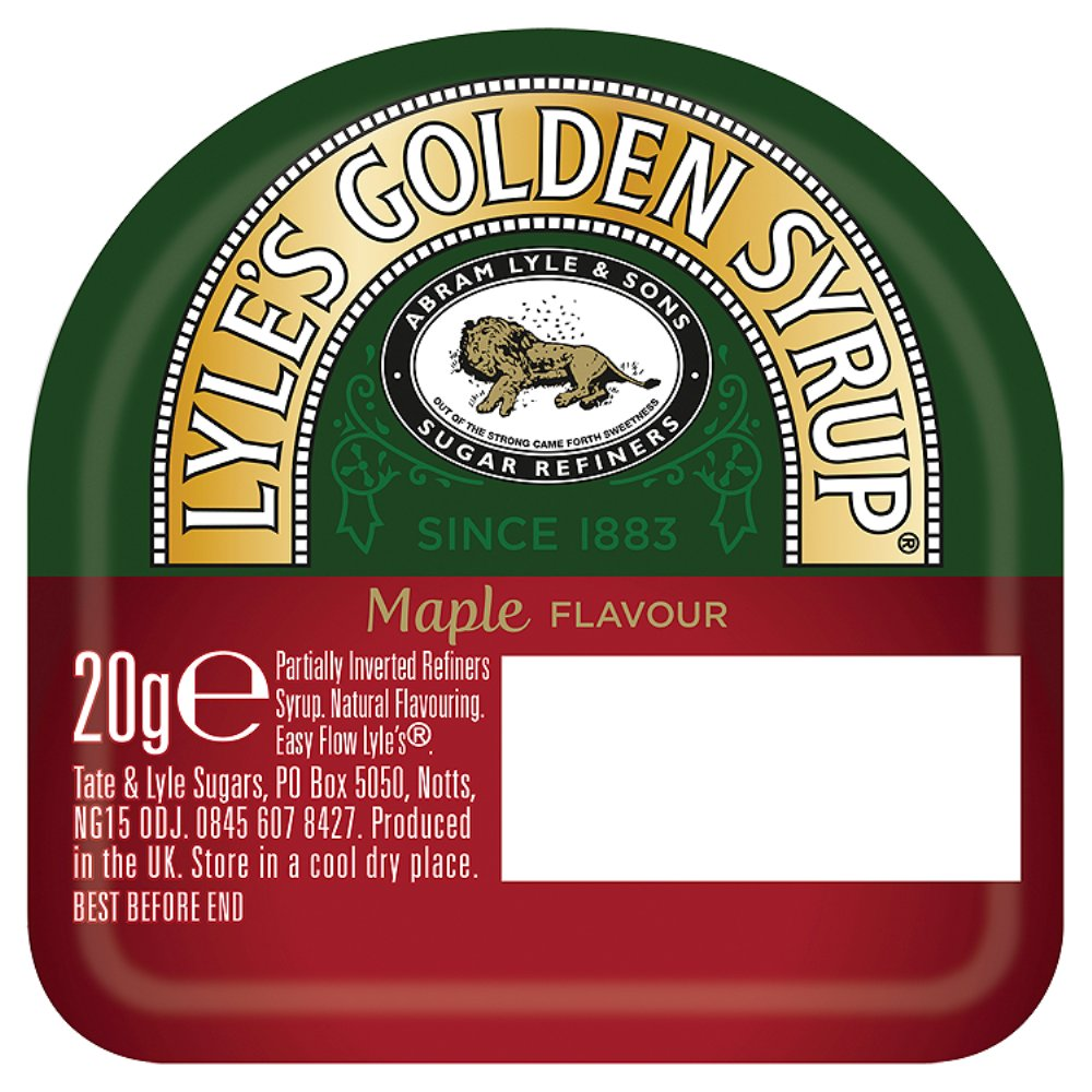 Tate & Lyle Maple Syrup Sachet