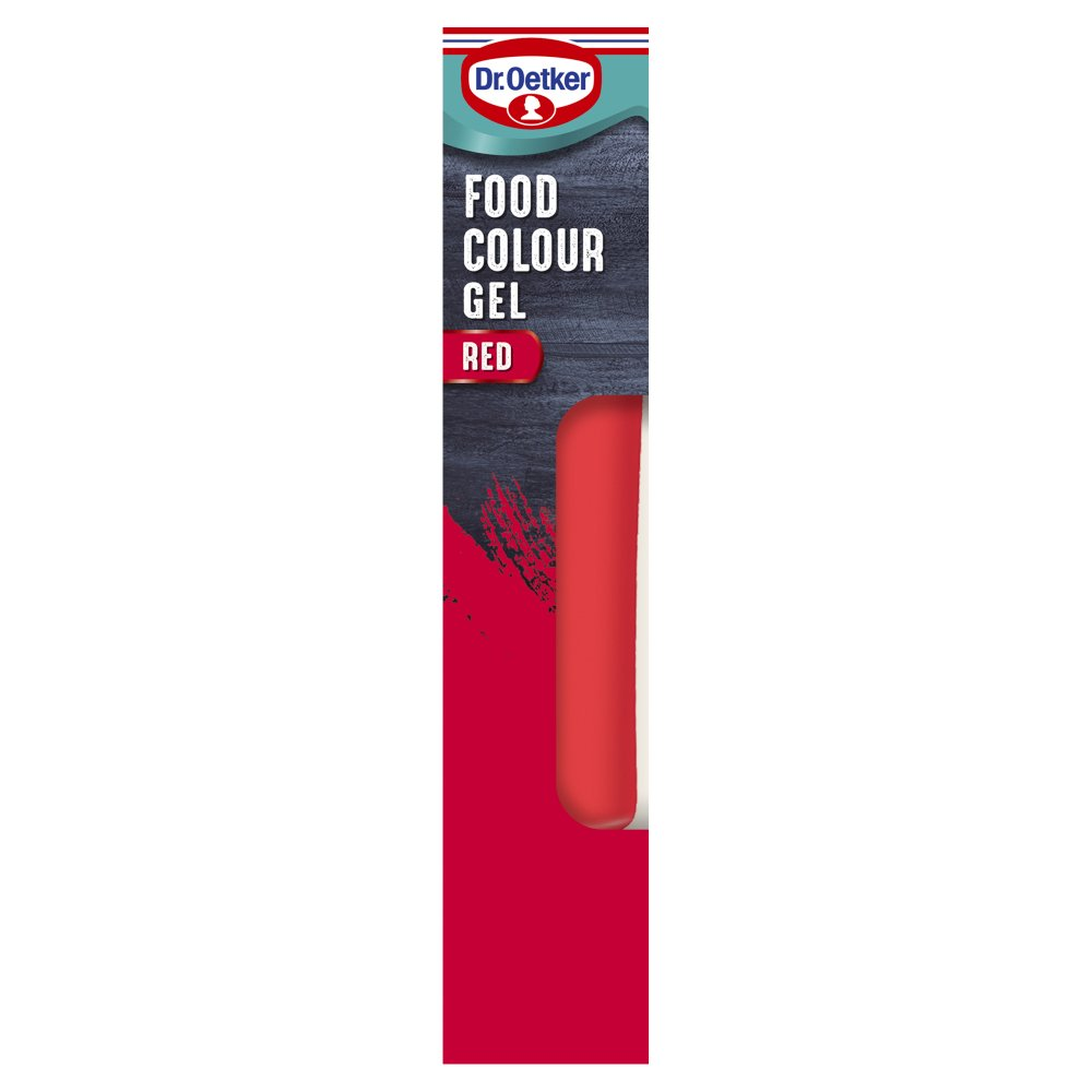 Dr. Oetker Red Extra Strong Food Colour Gel 15g