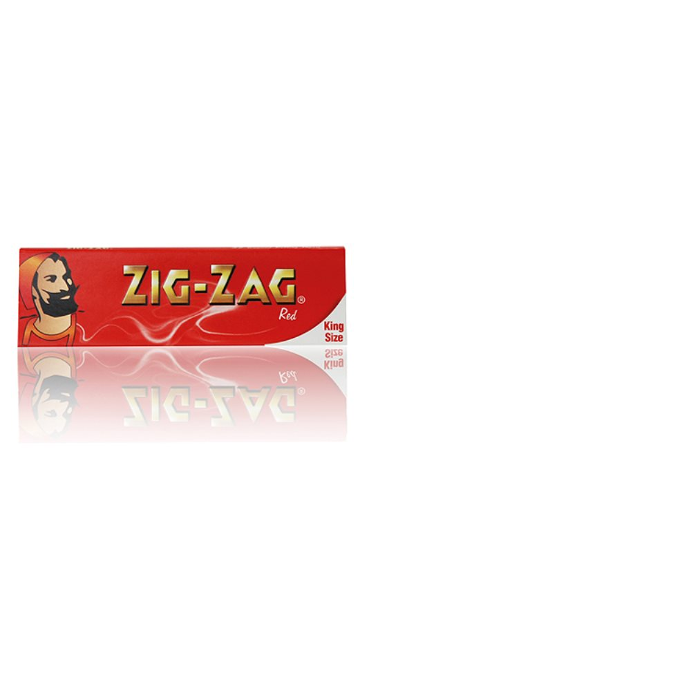 Zig Zag Papers King Size Red
