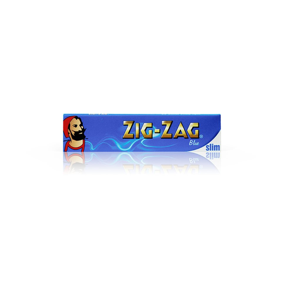 Zig Zag Papers King Size Blue Slim