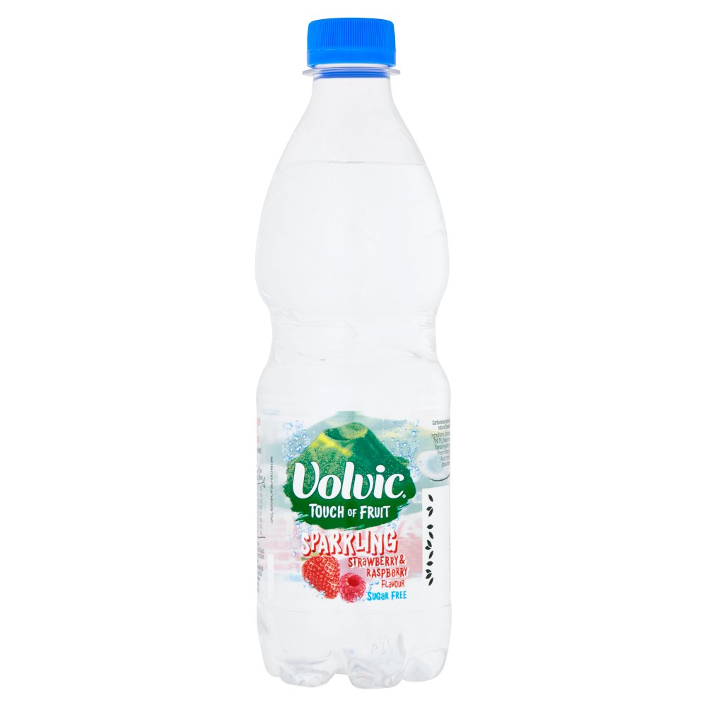 Volvic Touch Of Fruit Sparkling Stawberry & Rasp