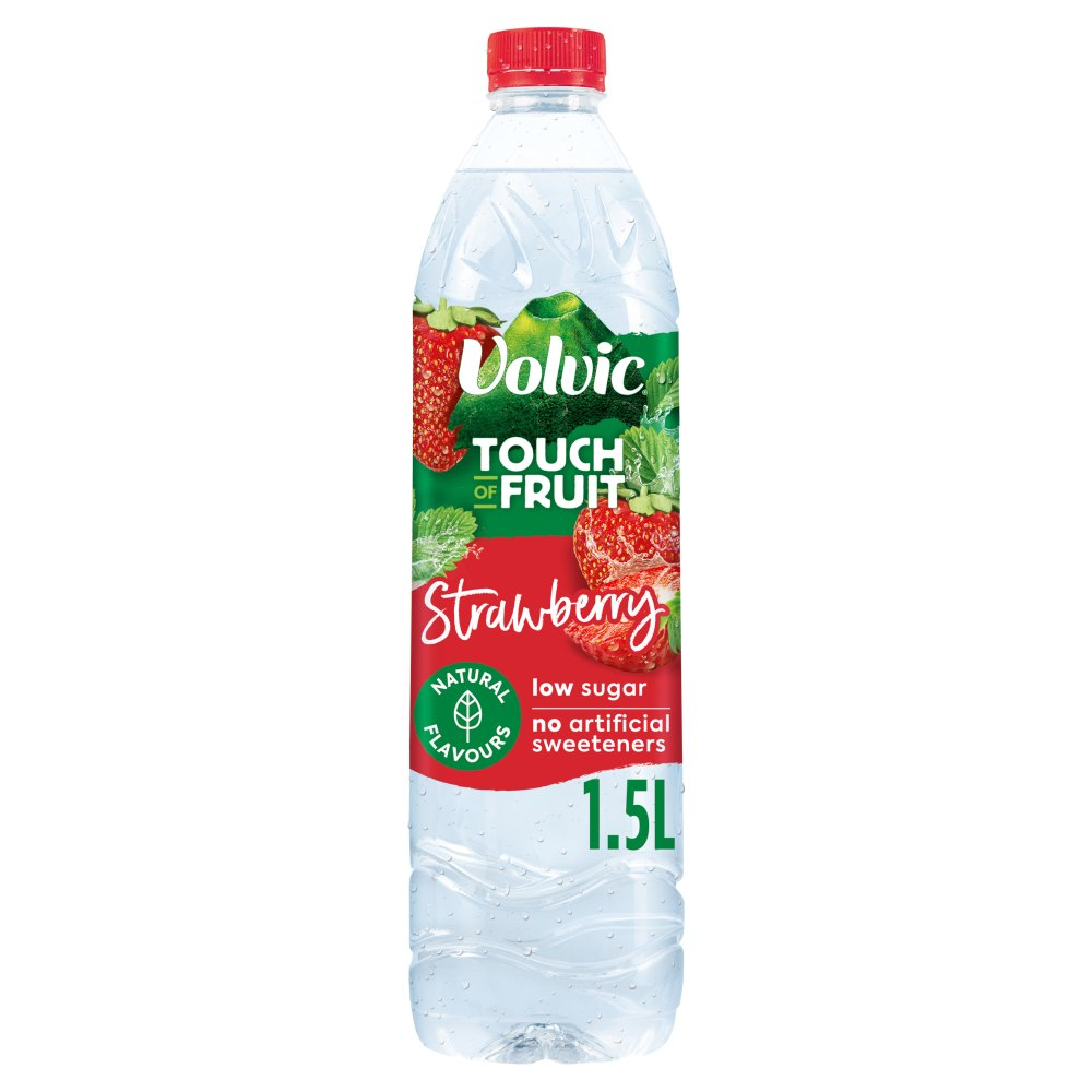 Volvic Touch of Fruit Strawberry Flavoured Water 1.5L