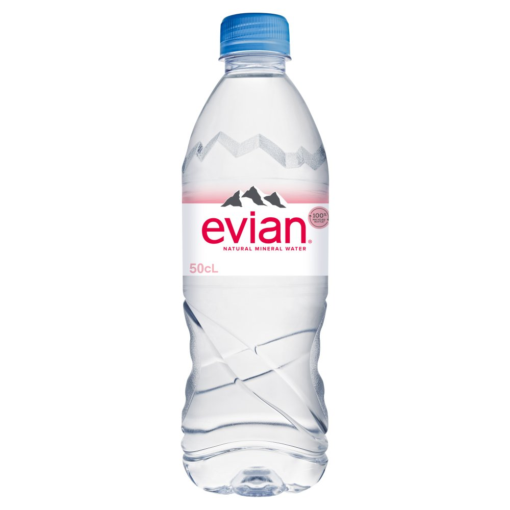Evian Water 50cl