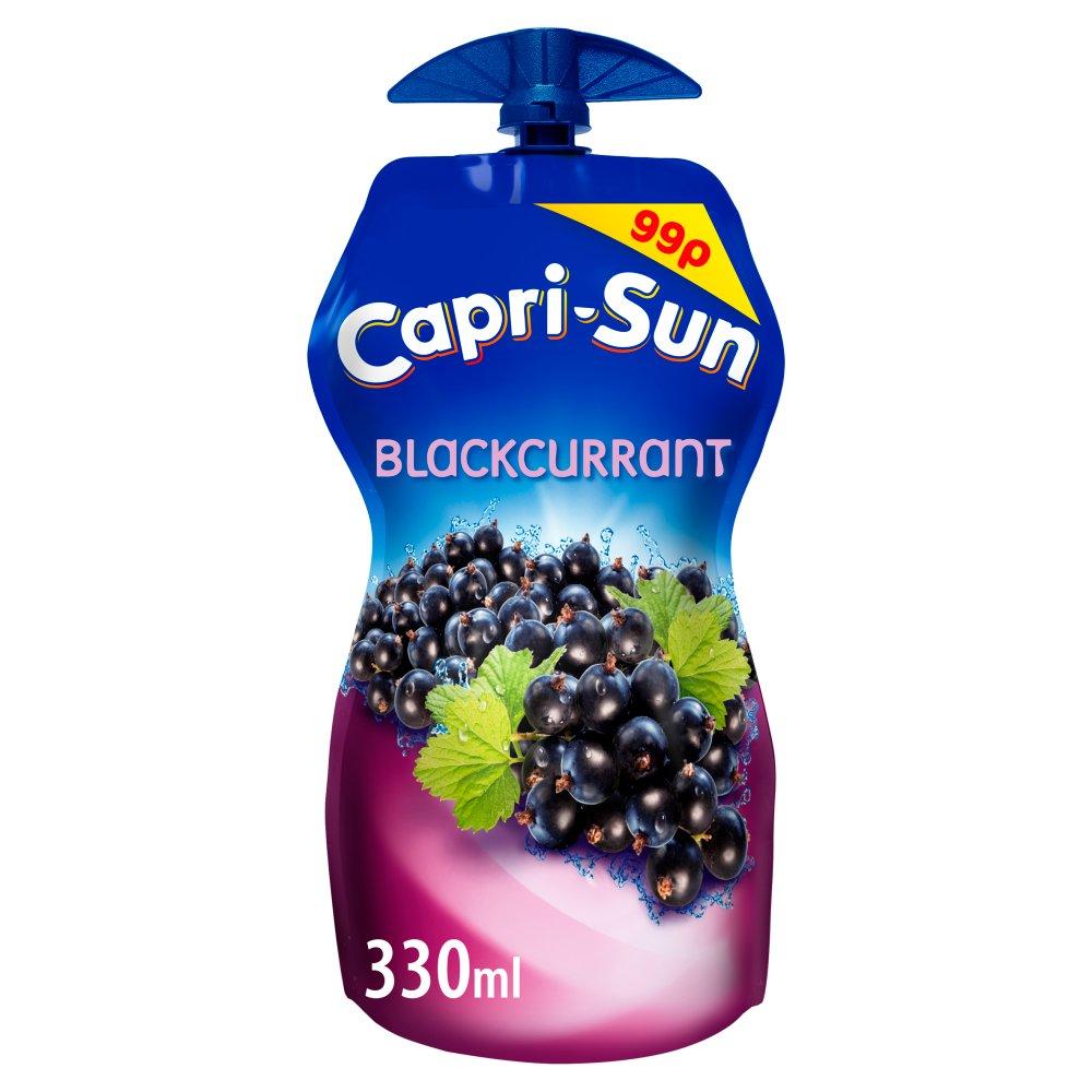 Capri-Sun Blackcurrant 330ml PMP 99p