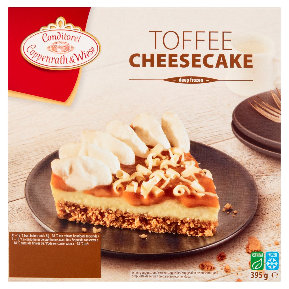 C & W Toffee Cheese Cake