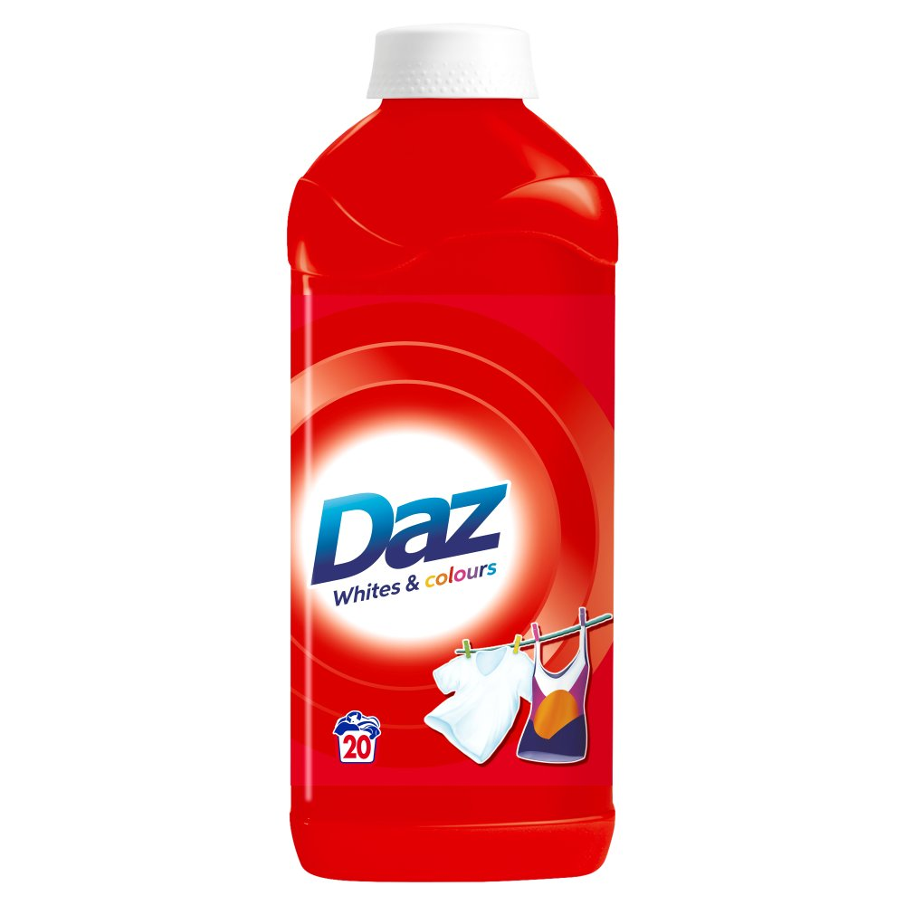 Daz Liquid Regular 20Washes PM £2.99