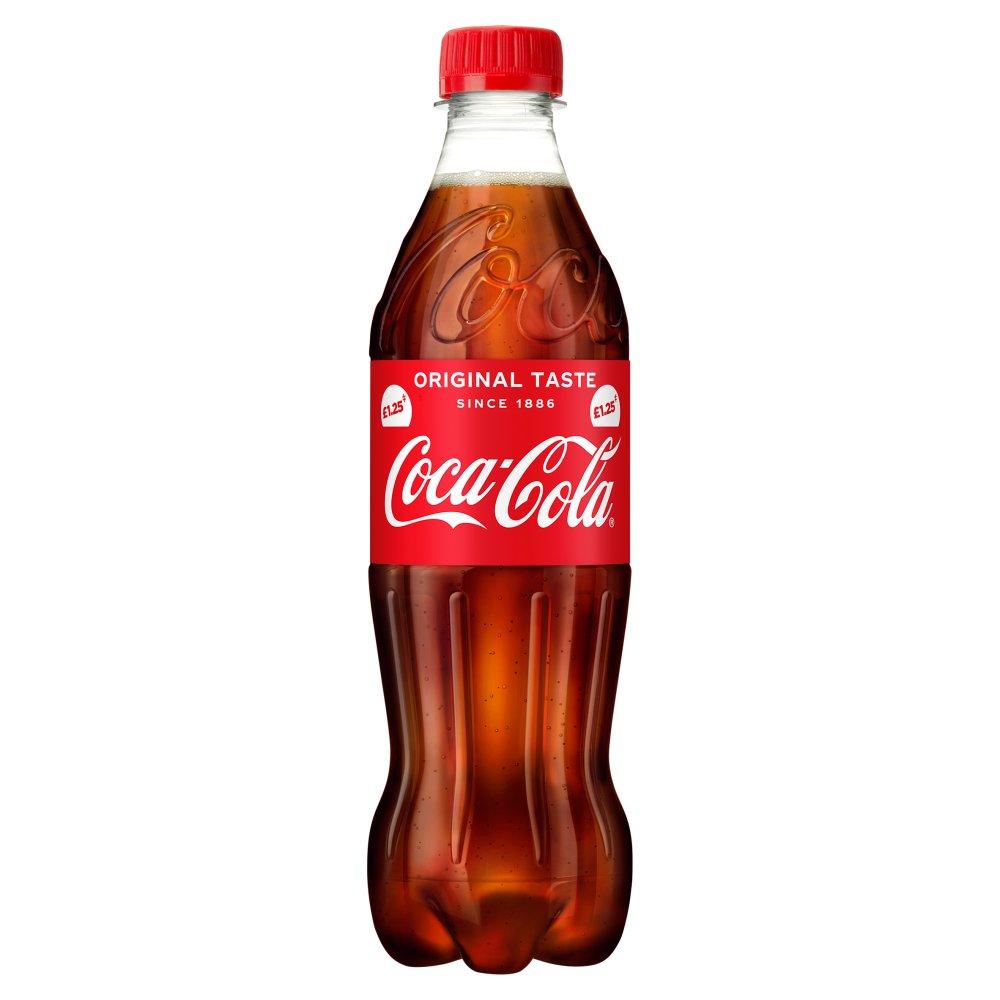 Coca-Cola Original Taste 500ml PMP £1.25