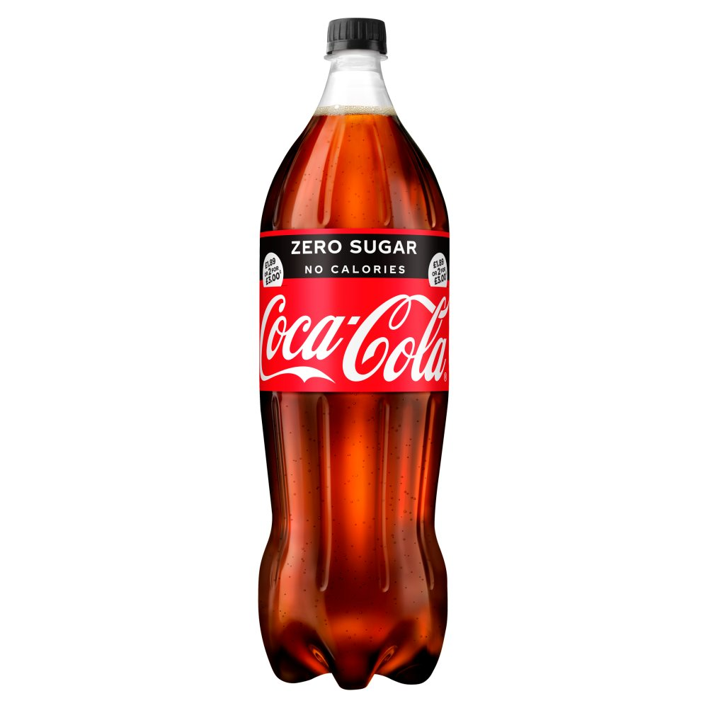 Coca-Cola Zero Sugar 1.75L PMP £1.89 or 2 for £3.00