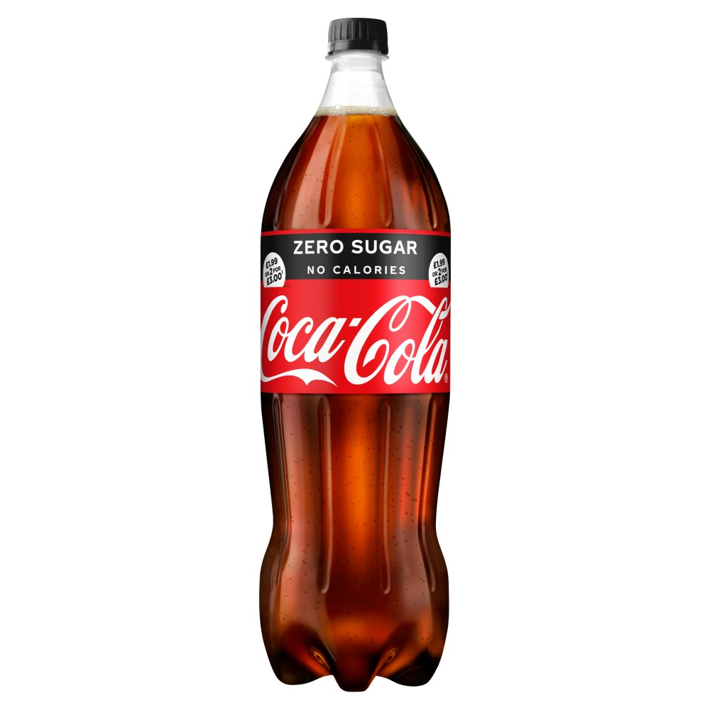 Coca-Cola Zero Sugar 1.75L PM £1.99 or 2 for £3