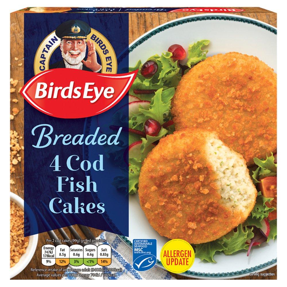 Birds Eye Cod Fish Cake - Bestway Wholesale