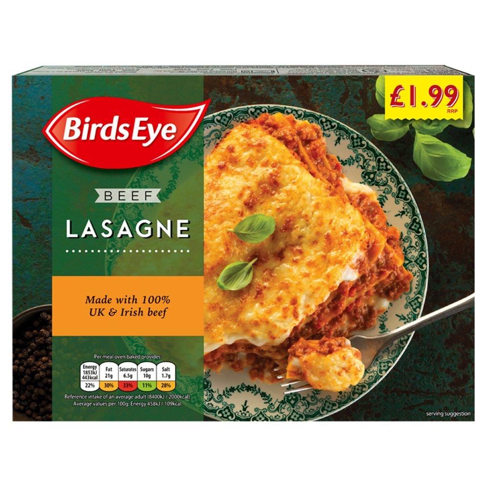 Birds Eye Beef Lasagne 400g