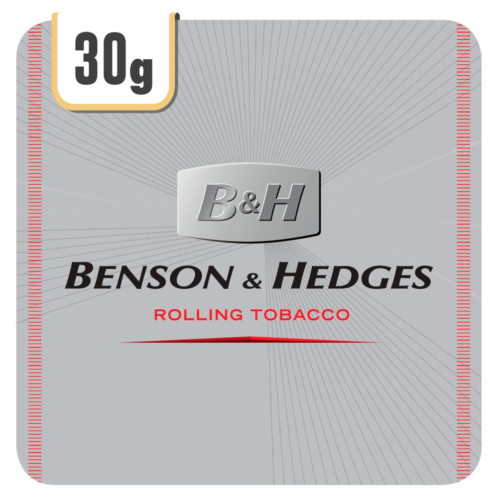 Benson & Hedges Silver Rolling Tobacco 5 x 30g (150g)