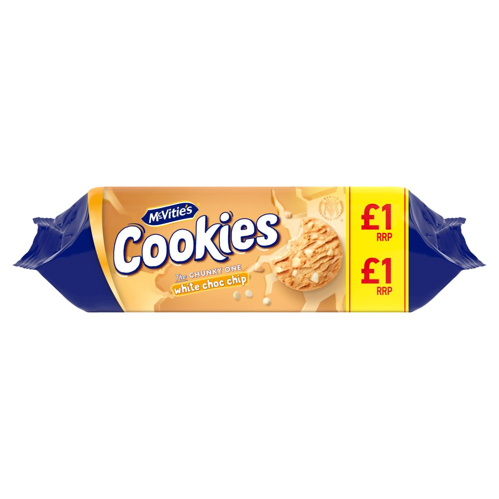 Mcvities White Chip Cookie PM £1